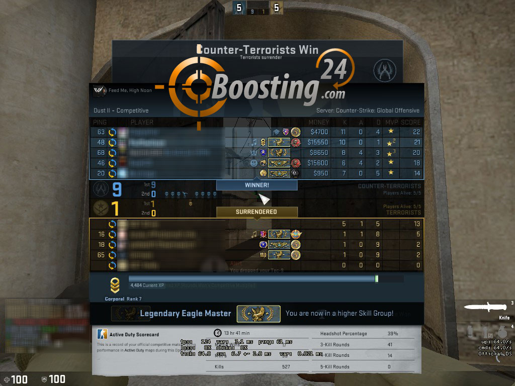rank cs go